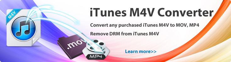 Convert any purchased M4V movies