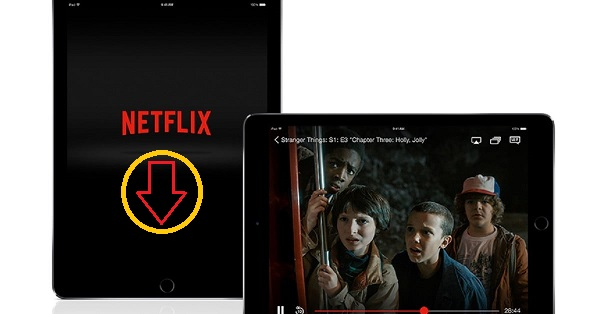 Watch Netflix on iPad